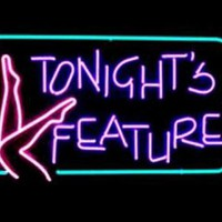 Tonights Feature Neon Sign