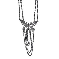 Apparel Addiction Jewelry Butterfly Chain Necklace