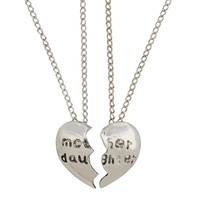 Silver Pendant Necklace for Mother's Day Gift