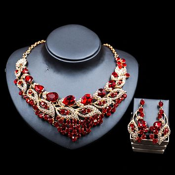 Beads for women jewelry set gold