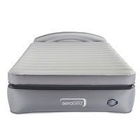 AeroBed Air Mattress with Built-in Pump & Headboard | Comfort Lock Laminated Air Bed Queen