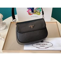 Prada Women's Leather Shoulder Bag Satchel Tote Bags  Crossbody  99