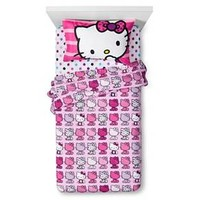 Hello Kitty Sheet Set - Multicolor (Twin)