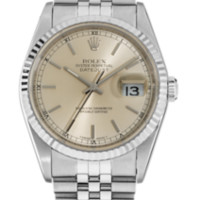 18K White Gold and Stainless Steel Datejust Automatic | Tourneau