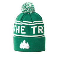 Hit the Trees Beanie Green