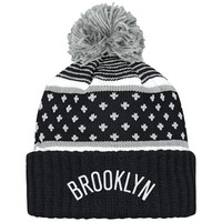 ONETOW Mitchell & Ness Brooklyn Nets The Highlands Cuffed Knit In Multicolor