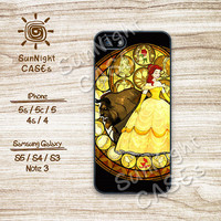 Disney, Beauty and beast, iPhone 5 case, iPhone 5C Case, iPhone 5S case, Phone case, iPhone 4 Case, iPhone 4S Case, Phone Skin, Samsung Case