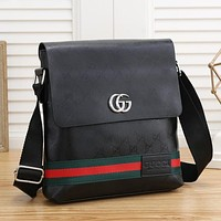 Men Fashion Leather Crossbody Satchel
