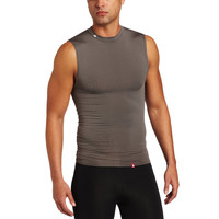New Balance Compression Crew Neck Muscle Tank - Grey - Default