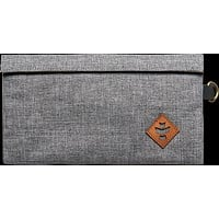 Revelry Confidant Money Bag .5l Crosshatch Grey/Black