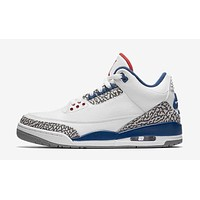 Air Jordan Retro 3 III 'True Blue' Mens