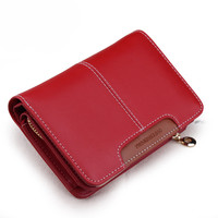 Zipper Student Wallet with Card Holder