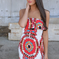 Circle of Love Maxi Dress