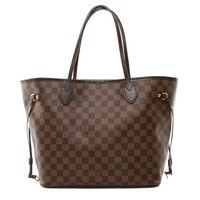 Authentic Louis Vuitton Neverfull MM Damier Ebene Tote bag N51105
