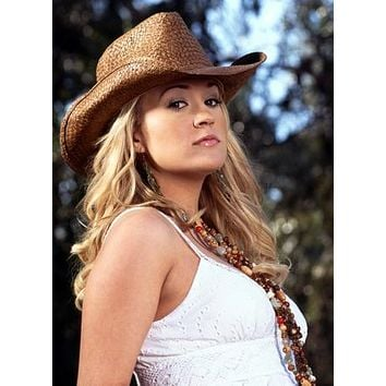 Carrie Underwood Poster Sassy Cowboy Hat 27inx40in