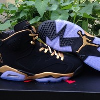 AIR JORDAN 6 (BLACK - OVO - DRAKE)