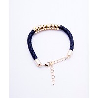 Ten Lucks Bracelet - Gold/Black