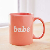 Babe Mug - Urban Outfitters
