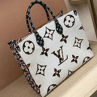 Louis Vuitton bag LV Fashion Ladies Print Trendy Shoulder Bag Handbag