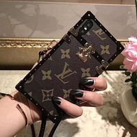 Louis Vuitton LV Fashion iPhone Phone Cover Case For iphone 6 6s 6plus 6s-plus 7 7plus 8 8plus iPhone X XR XS XS MAX