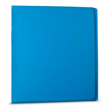 Yoobi 1 inch Binders w/ one touch D ring - Blue