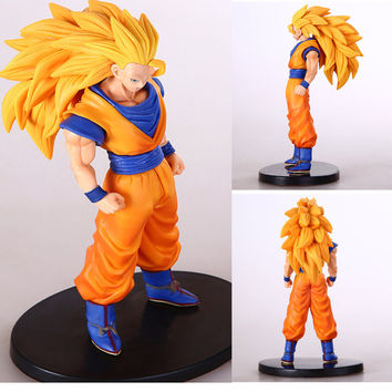 "ANIME Dragon Ball Z SON GOKU /& Kuririn 2pcs FIGURES SET 7/"" DOLL TOY KID GIFT NIB"