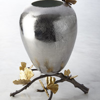 Medium Butterfly Ginkgo Vase - Michael Aram
