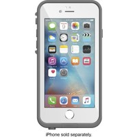 LifeProof - FRE Case for Apple® iPhone® 6 and 6s - White