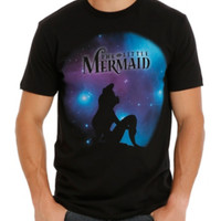 Disney The Little Mermaid Starry Cosmos T-Shirt