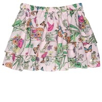 Whisper Pink Mini Mini Tangled Gardens Skirt by Juicy Couture,