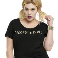 DC Comics Suicide Squad Harley Quinn Rotten Girls Top Plus Size
