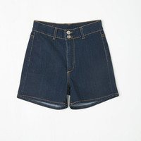 Vintage Inspired High Waist It's High Time Shorts in Classic