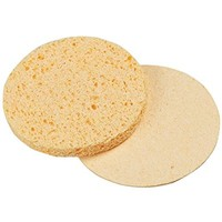 For Pro Compressed Sponge, Yellow, Round, 2.75 Inch, 12 Count