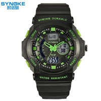 Dual Dial Watch s Waterproof Sports Watches s Led Electronic Watches Students Multifunction  Watches