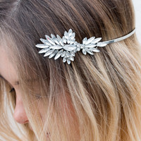 Crystallised Headpiece - Olga Berg
