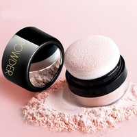 Matte Loose Setting Invisible Pore Makeup Powder Oil Control Soft Light Silk Face Foundation Makeup Skin Finish Powder Concealer