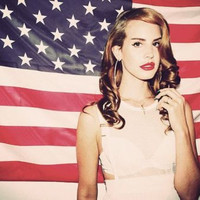 Silk Fabric Cloth Wall Poster Print Super Star Lana Del Rey  36x24