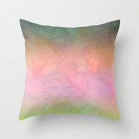 Waterscape 001 Throw Pillow by Schatzi Brown