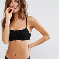 Zulu And Zephyr Ruched Underwired Bikini at asos.com
