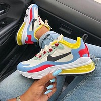 NIKE AIR MAX 270 REACT Gym Sneakers Sport Shoes