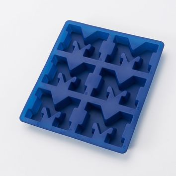Michigan Wolverines 6-Cup Silicone Muffin Pan (Mic Team)