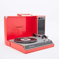 Crosley Spinnerette Portable Record Player EU Plug in Red - Urban Outfitters