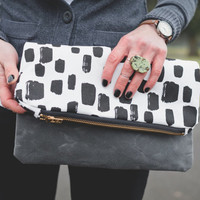 Dotted Clutch