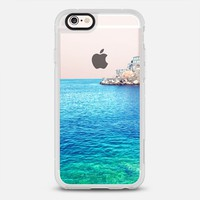 Rather be in Greece -- Transparent -- Summer Beach iPhone 6s case by Samantha Ranlet | Casetify