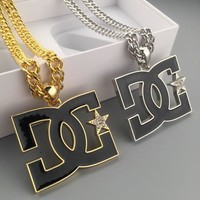 New Arrival Shiny Jewelry Gift Stylish Hot Sale Fashion Hip-hop Club Necklace [6542720003]