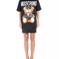 Moschino Anime Teddy Bear Cute Kawaii Harajuku T-Shirt