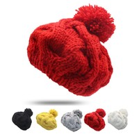 1Pcs Female Fashion Caps Warm Woman Hat Winter Cap Beanie For Women Winter Knitted Hats Crochet Gorro Feminino Bonnet Homme