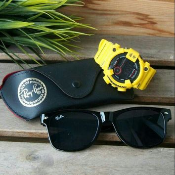 G SHOCK FROGMAN SPECIAL EDITION RAY BAN SUNGLASSES