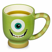 disney parks stripes mike wazowski ceramic coffee cup mug new