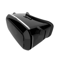 3D VR Virtual Reality Glasses Helmet for 3.5-5.7 inch Smartphones for 3D Movies and Games, Pupil Distance/ View Distance/ Sight Adjustable, Soft Leather w/ Padding